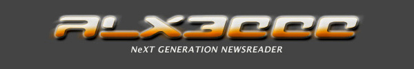 [ALX3000: NeXT GENERATION NEWSREADER]